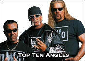 Top Ten Professional Wrestling Angles