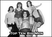 Top Ten Professional Wrestling Big Men