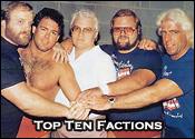 Top Ten Professional Wrestling Factions