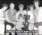 Top Ten Professional Wrestling Families