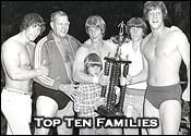 Top Ten Professional Wrestling Families