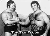 Top Ten Professional Wrestling Feuds
