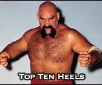 Top Ten Professional Wrestling Heels