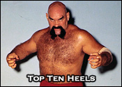 Top Ten Professional Wrestling Heels
