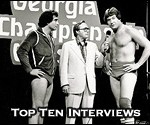 Top Ten Professional Wrestling Interviews