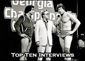 Top Ten Professional Wrestling Interviews