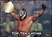 Top Ten Professional Wrestling Latin Wrestlers