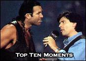 Top Ten Professional Wrestling Broadcast Moments