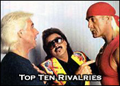 Top Ten Professional Wrestling Rivalries
