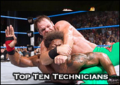 Top Ten Professional Wrestling Technicians