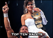 Top Ten Professional Wrestling Valets