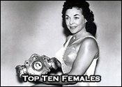 Top Ten Professional Wrestling Female Wrestlers