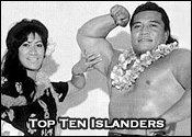 Top Ten Professional Wrestling Pacific Islanders