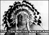 Top Ten Professional Wrestling Native Americans